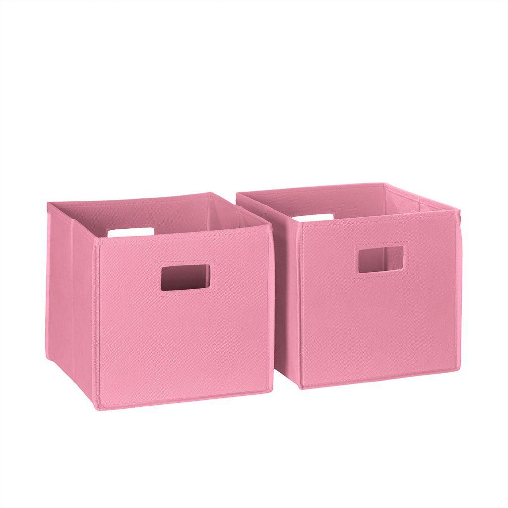 RiverRidge Kids 2-pack Folding Storage Bin