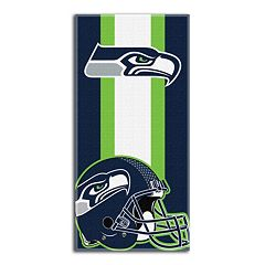 Seattle Seahawks Zone Beach Towel