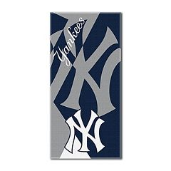 New York Yankees Puzzle Oversize Beach Towel by Northwest