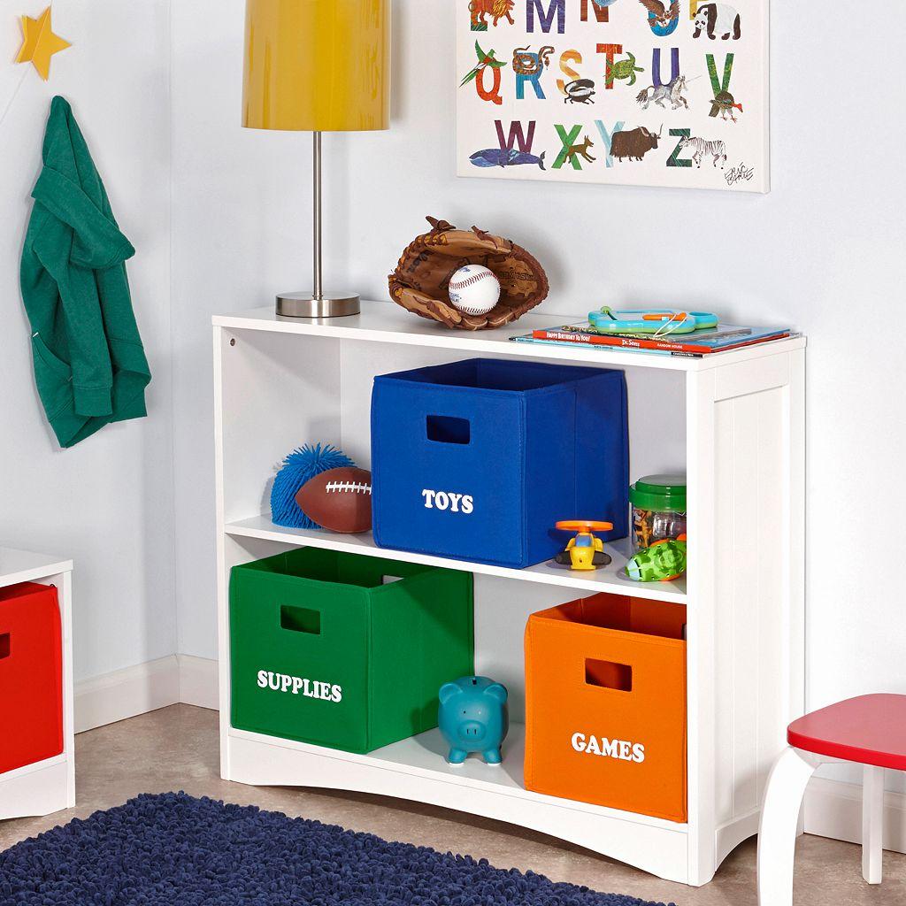 RiverRidge Kids ''Toys'' Folding Storage Bin
