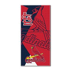 St. Louis Cardinals Puzzle Oversize Beach Towel by Northwest