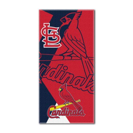 St. Louis Cardinals Puzzle Oversize Beach Towel by Northwest