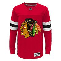 Boys 8-20 Reebok Chicago Blackhawks Faceoff Jersey Tee