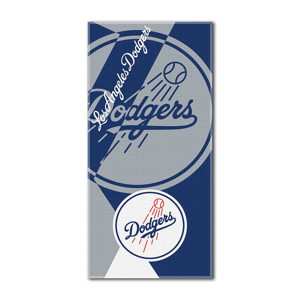 Los Angeles Dodgers Puzzle Oversize Beach Towel by Northwest