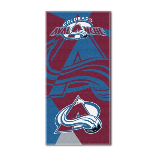 Colorado Avalanche Puzzle Oversize Beach Towel by Northwest