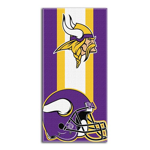 b9506791 Minnesota Vikings Zone Beach Towel