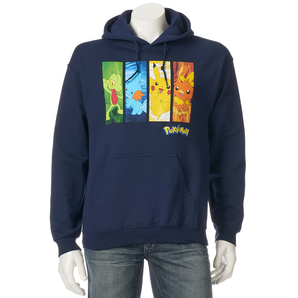 Men's Pokémon Character Powers Hoodie