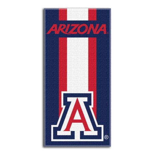 Arizona Wildcats Zone Beach Towel