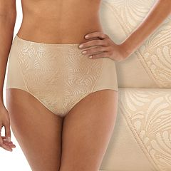 Bali 2 pkUltra-Control Firm Cotton Briefs DF6510 - Women's