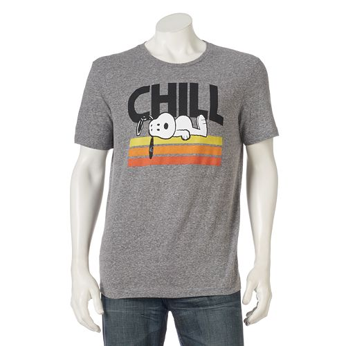 Men's Peanuts Snoopy Chill Tee