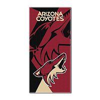 Arizona Coyotes Puzzle Oversize Beach Towel by Northwest