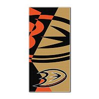Anaheim Ducks Puzzle Oversize Beach Towel by Northwest