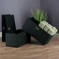 Winsome Torino Folding Storage Basket 3-piece Set