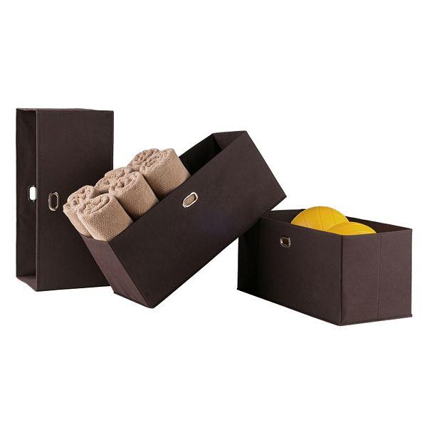 Winsome Torino Folding Storage Basket 3 Piece Set