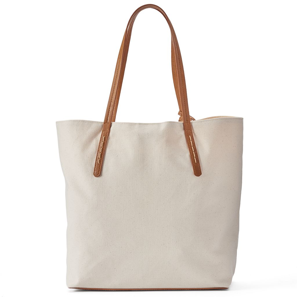 SONOMA Goods for Life™ Canvas Printed Tote