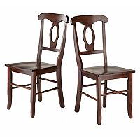 Winsome Renaissance Dining Chair 2-piece Set