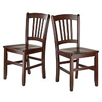 Winsome Madison Dining Chair 2 pc Set