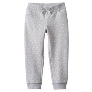 Baby Girl Jumping Beans® Dot Knit Jogger Pants