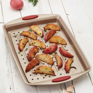 Rachael Ray Cucina 2-pc. Nonstick Crisper Cookie Sheet Set
