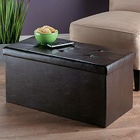 Winsome Ashford Tufted Coffee Table Storage Ottoman