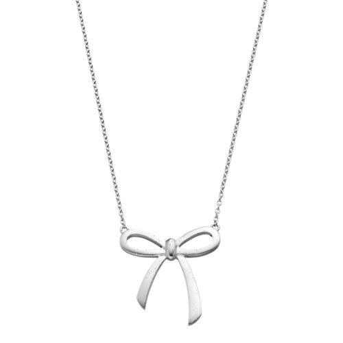Sterling Silver Bow Necklace by Kohl's