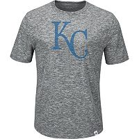 Men's Majestic Kansas City Royals Fast Pitch Tee