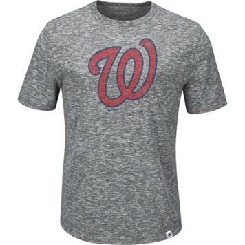 Men's Majestic Washington Nationals Fast Pitch Tee