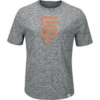 Men's Majestic San Francisco Giants Fast Pitch Tee