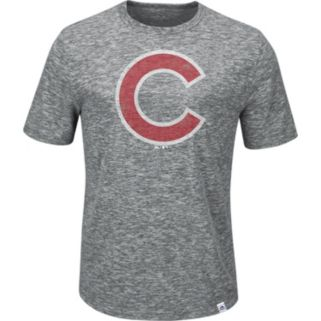 Men's Majestic Chicago Cubs Fast Pitch Tee