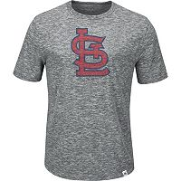 Men's Majestic St. Louis Cardinals Fast Pitch Tee
