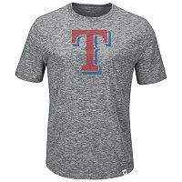 Men's Majestic Texas Rangers Fast Pitch Tee