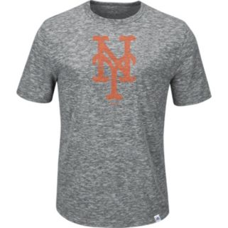 Men's Majestic New York Mets Fast Pitch Tee