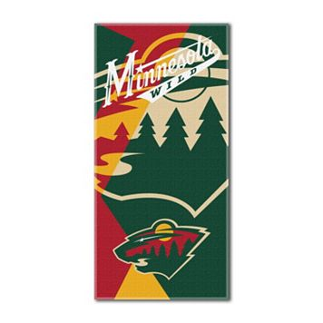 Minnesota Wild Puzzle Oversize Beach Towel by Northwest