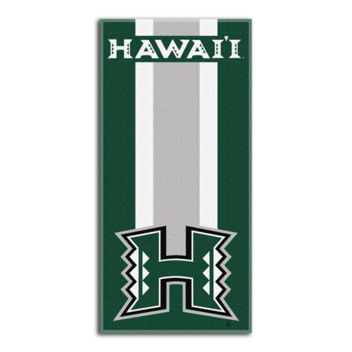Hawaii Warriors Zone Beach Towel