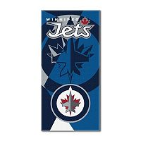 Winnipeg Jets Puzzle Oversize Beach Towel by Northwest