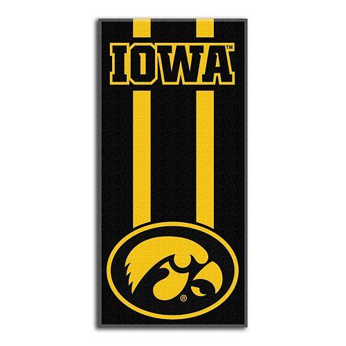 Iowa Hawkeyes Zone Beach Towel