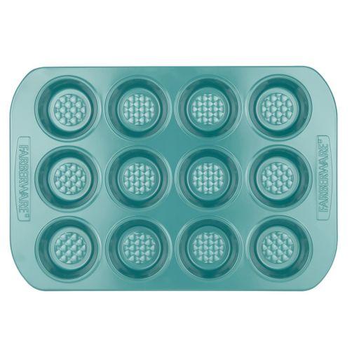 Farberware purECook Hybrid 12-Cup Nonstick Ceramic Muffin Pan