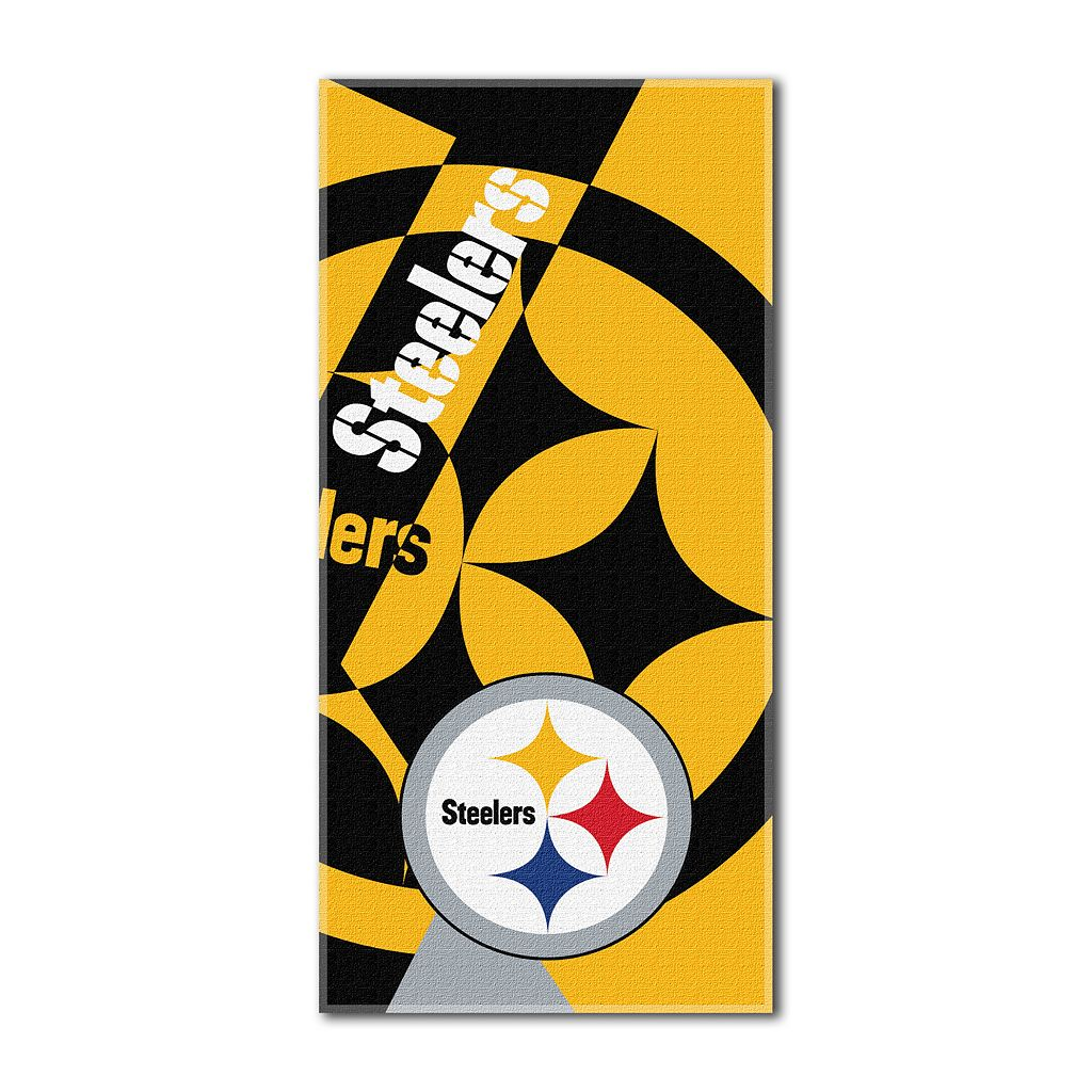 Pittsburgh Steelers Puzzle Oversize Beach Towel by Northwest