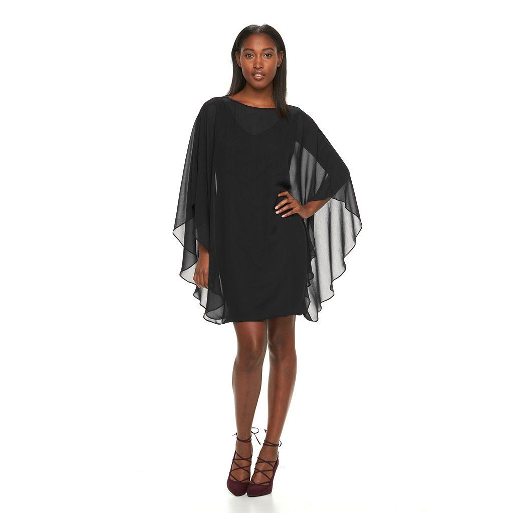 Women's Sharagano Chiffon Caftan Dress