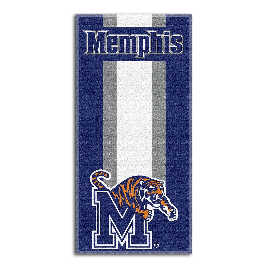 Memphis Tigers Zone Beach Towel