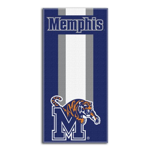 Memphis Tigers Zone Beach Towel