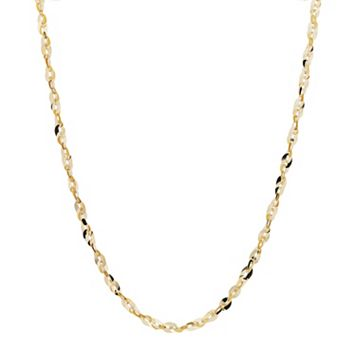 Everlasting Gold 14k Gold Cleo Chain Necklace - 18 in.