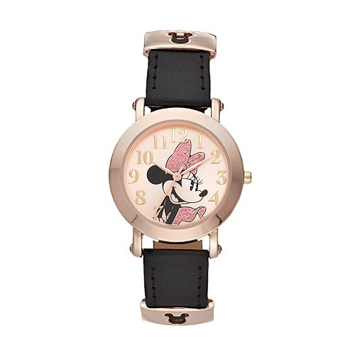 Disney's Minnie Mouse Women's Sliding Icon Keepers Watch