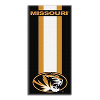 Missouri Tigers Zone Beach Towel