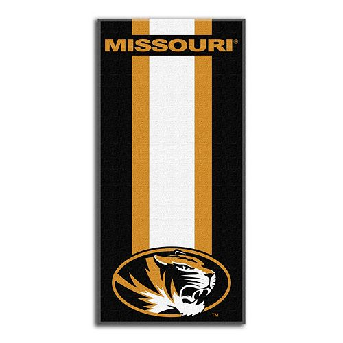 Missouri Tigers Zone Beach Towel