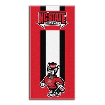 North Carolina State Wolfpack Zone Beach Towel