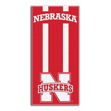 Nebraska Cornhuskers Zone Beach Towel