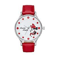 Disney's Minnie Mouse Women's Red Dot Watch