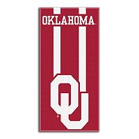 Oklahoma Sooners Zone Beach Towel