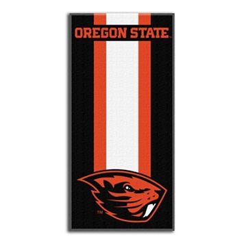 Oregon State Beavers Zone Beach Towel